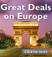 Great deals on Europe