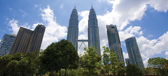 Kuala Lumpur Malaysia Petronas Twin Towers