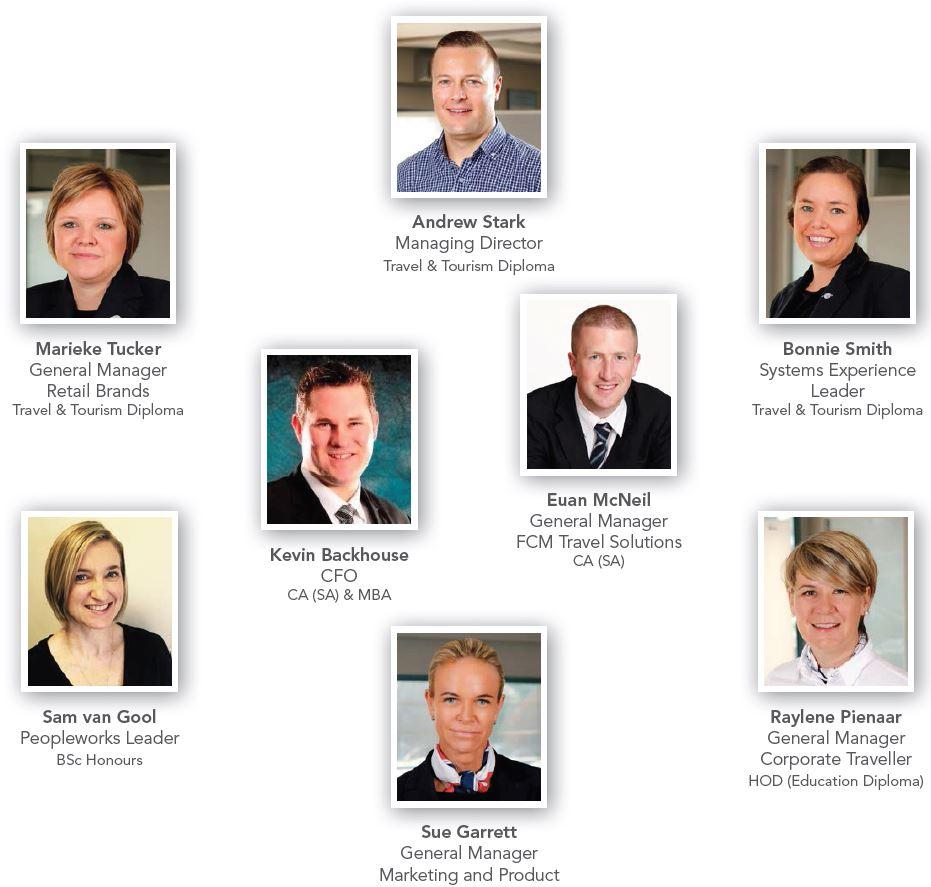 Flight Centre Leadership Team