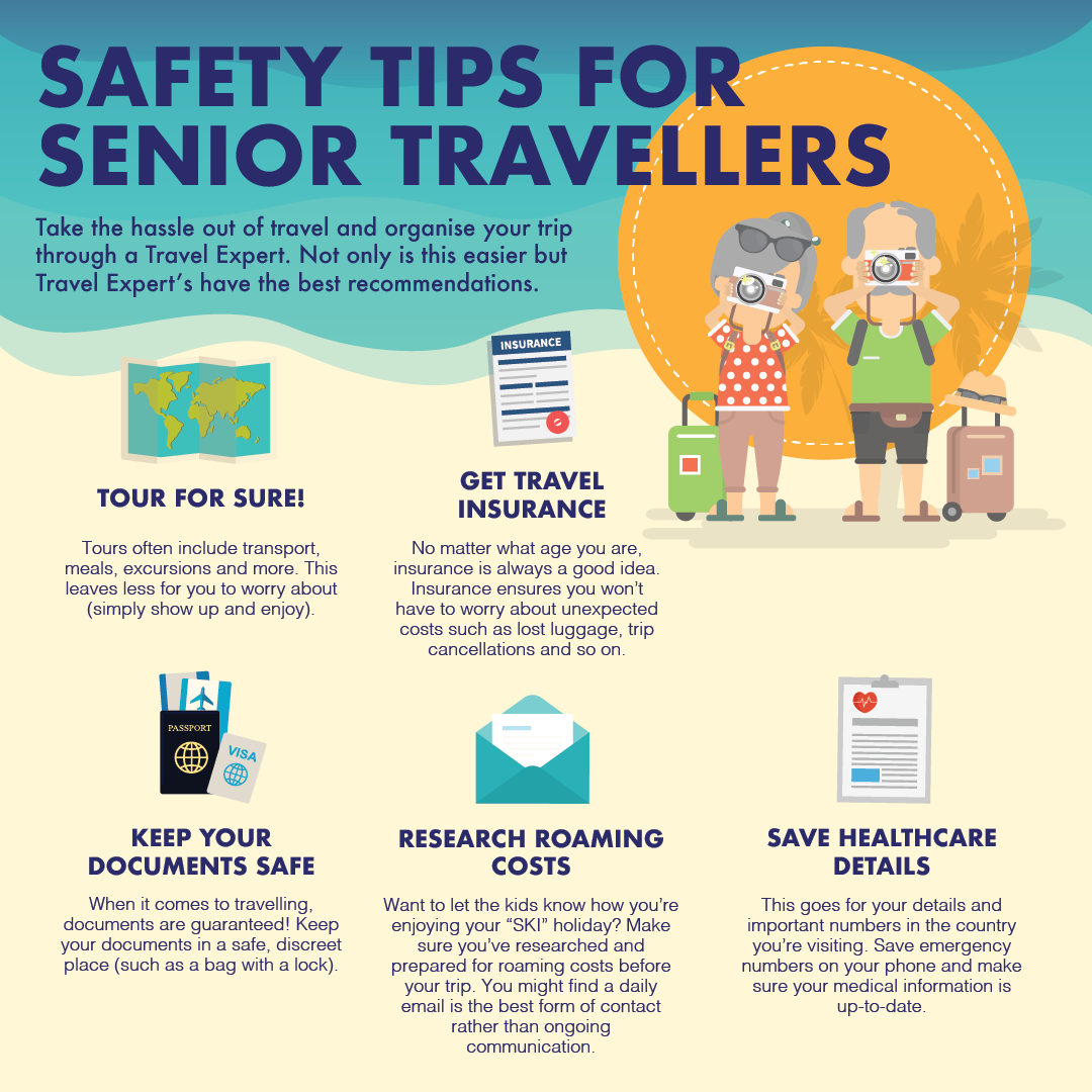 Senior Travel Safety Tips