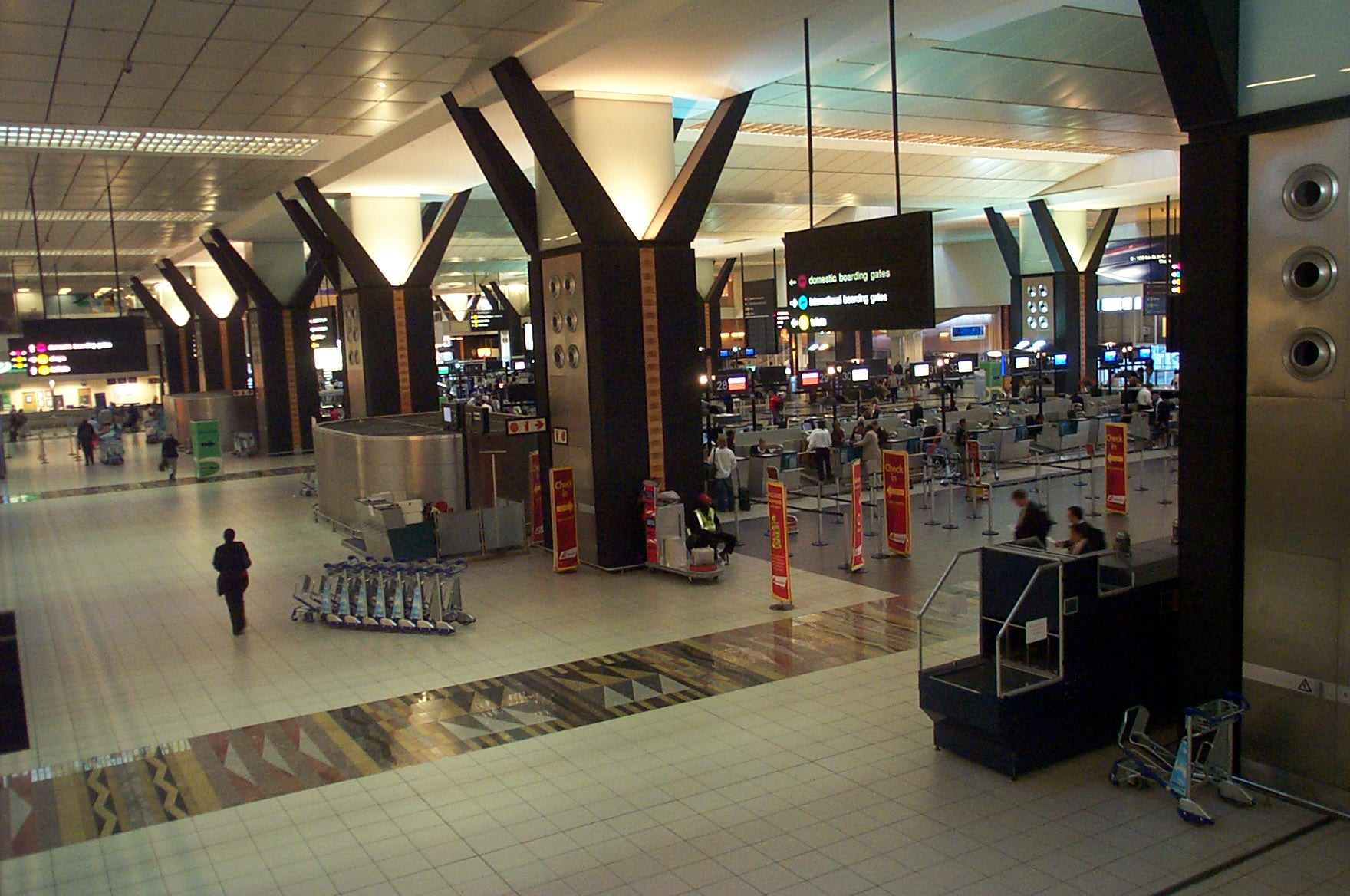 O R TAMBO INTERNATIONAL AIRPORT BUSINESS TRAVEL