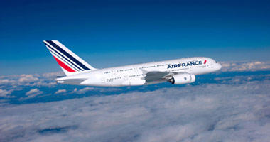 Air France in the sky