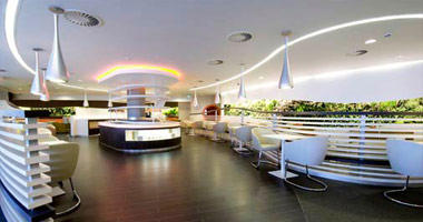 Jet Airways lounge, London