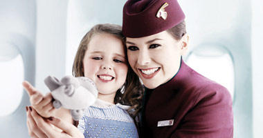 Qatar Airways will care for your little one