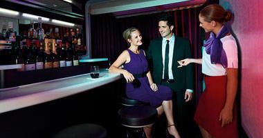 Virgin Australia sit-down bar