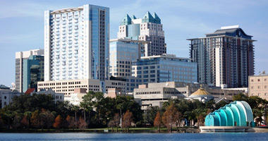 Lake Eola Park & Downtown