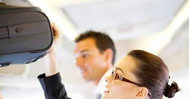 Carry-on baggage restrictions differ depending on your flight class and your airline