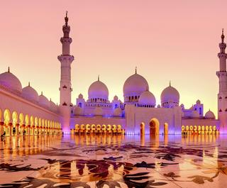 Abu Dhabi's Big 5 - Sheikh Zayed Grand Mosque
