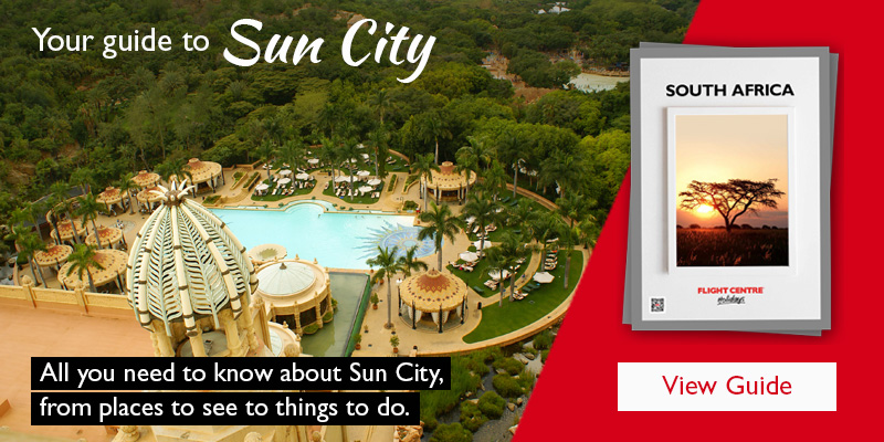A view of a top attraction at Sun City.