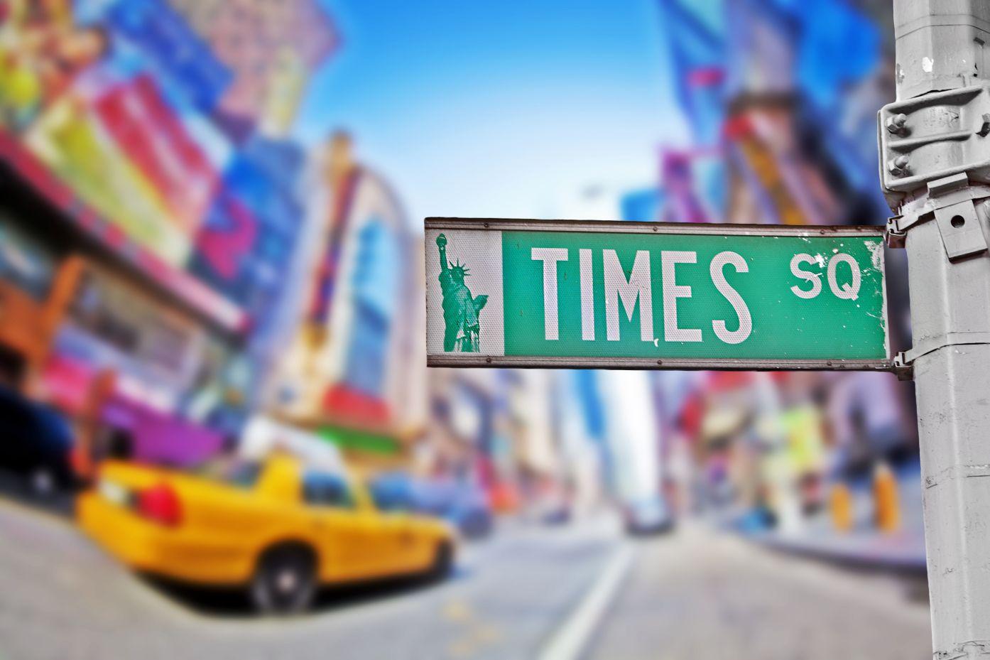#TimesSquare