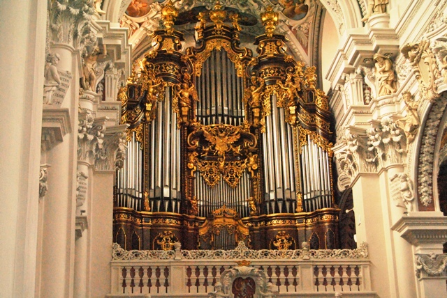 Church organ Passau
