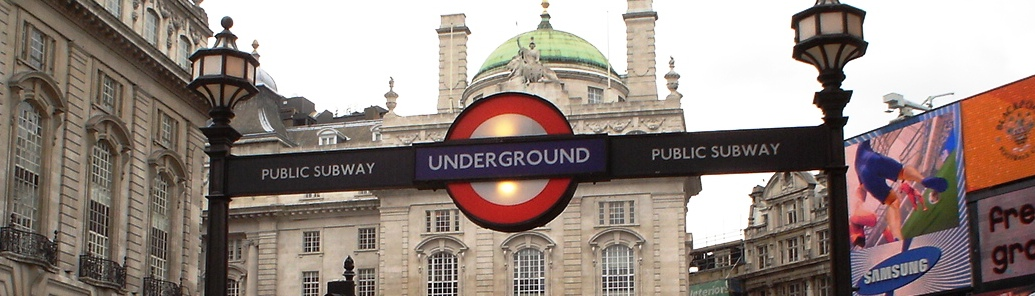 Tube In Picadilly Circus
