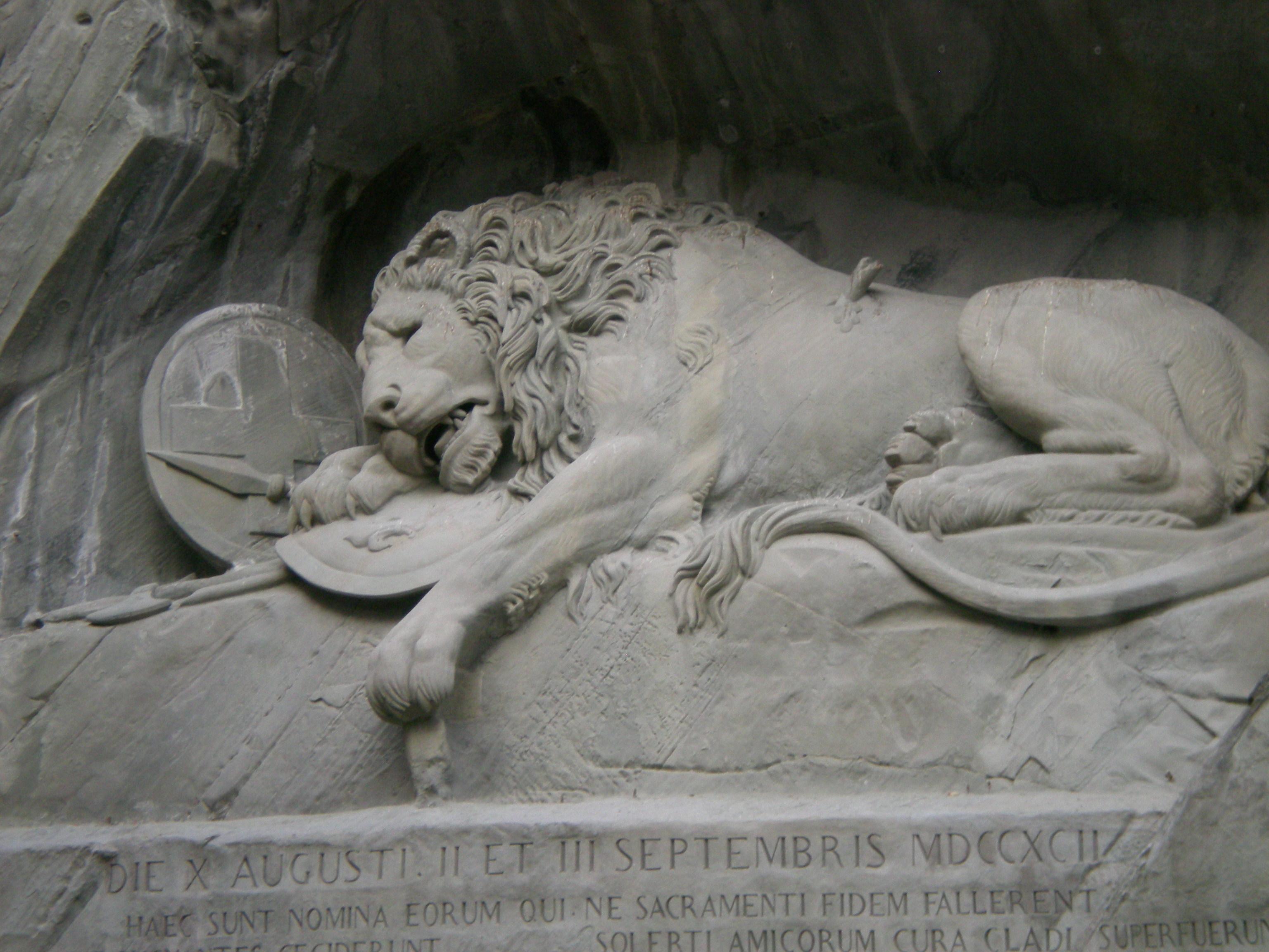 Lucernes Lion