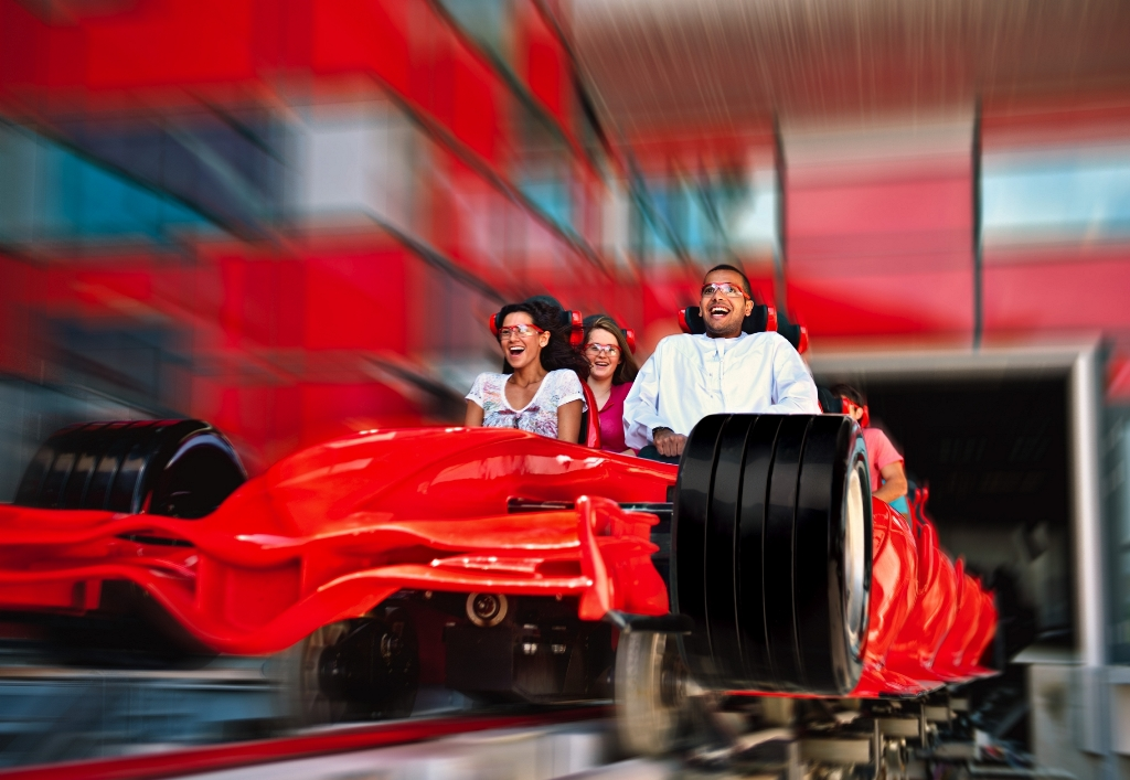 Formula Rossa - the world