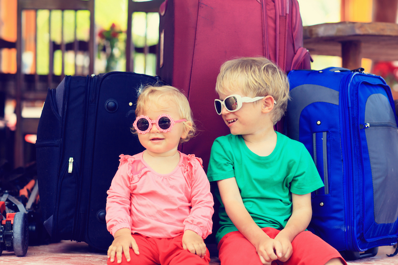 8 top tips for travelling abroad with kids this winter
