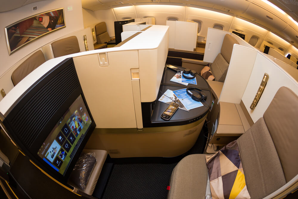 The top 5 first-class cabins